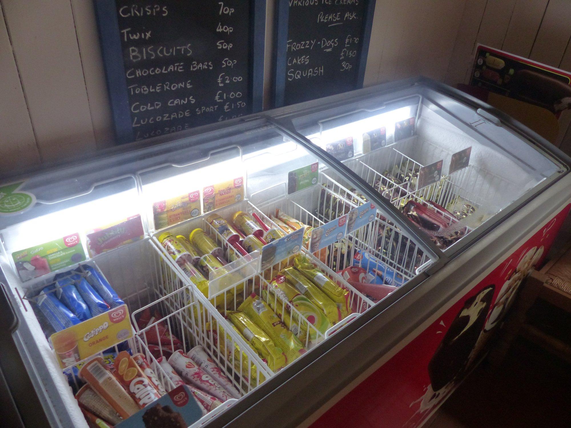 Halfway House Freezer pantry